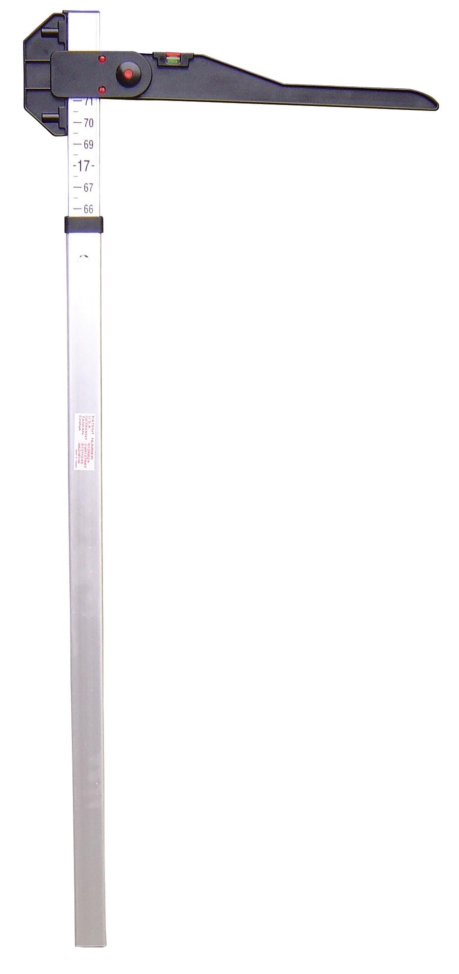 toise en aluminium et pvc unite de mesure en cm 36500111 harry 39 s horse. Black Bedroom Furniture Sets. Home Design Ideas